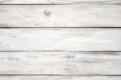 Текстура покрашенная белизной деревянная Стоковые Изображения RF