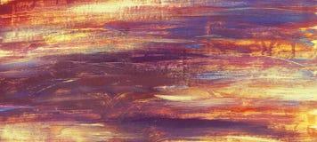 Текстура покрашенная маслом абстрактная иллюстрация штока