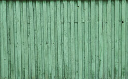 Текстура покрашенной зеленой предпосылки дерева Стоковое Фото