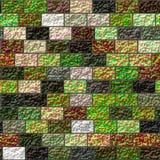 Текстура покрашенной кирпичной стены Стоковое Изображение