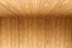 Текстура пола teak деревянных и предпосылки обоев Стоковые Изображения RF