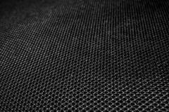 Текстура полиэстера Breathable материал Отверстия для воздуха Задняя часть рюкзака стоковое изображение