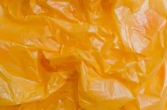 Текстура полиэтиленового пакета цвета Стоковое Фото