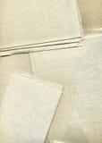 текстура полотна холстины предпосылки Стоковое Изображение RF
