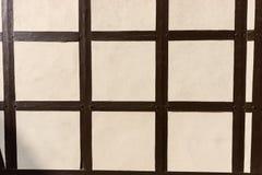 Текстура полу-timbered здания стоковое изображение