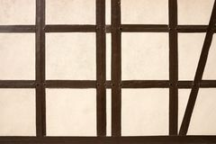 Текстура полу-timbered здания стоковое изображение rf