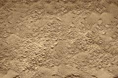 Текстура порошка глины, забота кожи и текстура продукта красоты стоковые фото