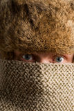 текстура портрета маски Стоковая Фотография