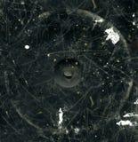 текстура поцарапанная чернотой Стоковые Изображения RF