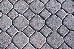 Текстура пола булыжника Стоковая Фотография RF