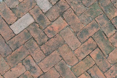 Текстура пола блока кирпича Стоковые Фото