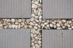 Текстура пола кирпича и камня Стоковая Фотография RF