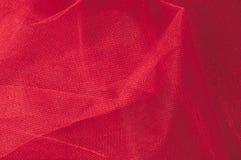Текстура, предпосылка, картина Красная ткань абстрактный красный цвет предпосылки Стоковая Фотография RF