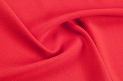 Текстура, предпосылка, картина Красная ткань абстрактный красный цвет предпосылки Стоковые Изображения RF