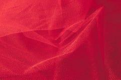Текстура, предпосылка, картина Красная ткань абстрактный красный цвет предпосылки Стоковое Изображение