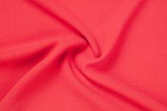 Текстура, предпосылка, картина Красная ткань абстрактный красный цвет предпосылки Стоковые Фотографии RF