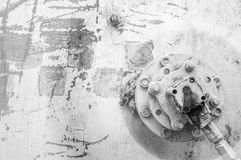 Текстура, предпосылка, картина ржавое утюга старое металл ржавый ржаво Стоковые Фото