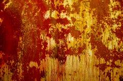 Текстура, предпосылка, картина ржавое утюга старое металл ржавый ржаво Стоковая Фотография RF