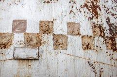 Текстура, предпосылка, картина ржавое утюга старое металл ржавый ржаво Стоковые Изображения
