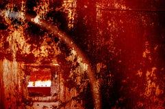Текстура, предпосылка, картина ржавое утюга старое металл ржавый ржаво Стоковые Фотографии RF