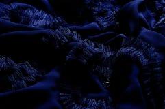 Текстура, предпосылка, картина С зашитыми картинами bluets Silk cha стоковое фото