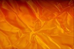 Текстура, предпосылка, картина Тени красного, желтого золота шелка fa Стоковые Изображения RF
