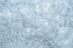 Текстура, предпосылка: поверхность льда Стоковая Фотография RF