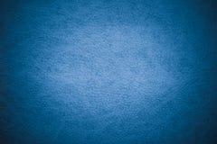 текстура предпосылки голубая кожаная Стоковые Изображения RF