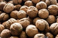 Текстура предпосылки грецкого ореха стоковая фотография rf