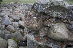 текстура предпосылки каменная Стоковая Фотография RF