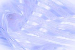 Текстура предпосылки, картина пастельно Голубая silk ткань с lig стоковые фотографии rf