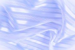 Текстура предпосылки, картина пастельно Голубая silk ткань с lig стоковая фотография rf