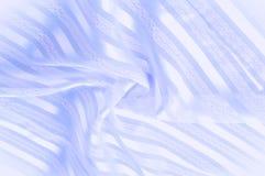 Текстура предпосылки, картина пастельно Голубая silk ткань с lig стоковое изображение
