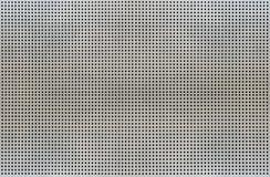 Текстура предпосылки клеток сетки металла изолированных на белой предпосылке Стоковое Изображение RF