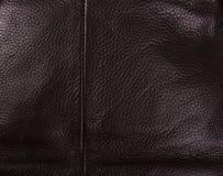 текстура предпосылки коричневая кожаная Стоковое фото RF