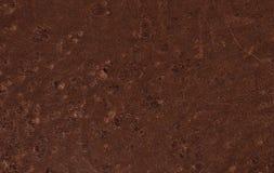 текстура предпосылки коричневая кожаная Стоковое Изображение RF