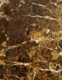 текстура предпосылки коричневая мраморная Стоковая Фотография RF