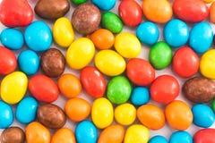 Текстура предпосылки пестротканых конфет стоковое фото