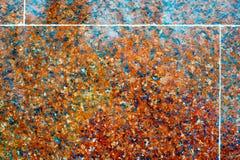 текстура предпосылки, синь Тюль Камень гранита отполирован Оно Стоковое Изображение
