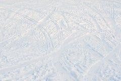 Текстура предпосылки снега Стоковое Фото