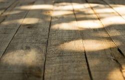 Текстура предпосылки таблицы деревянная Стоковое Фото