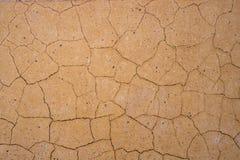Текстура предпосылки треснутой стены Стоковые Фотографии RF