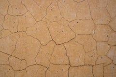 Текстура предпосылки треснутой стены Стоковое Изображение RF