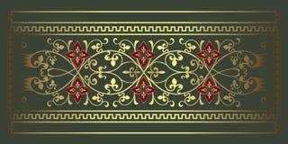текстура предпосылки флористическая зеленая Стоковое фото RF