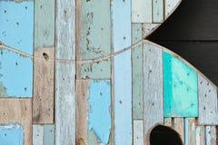 Текстура предпосылки цвета стены деревянная Стоковые Изображения RF