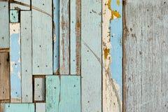 Текстура предпосылки цвета стены деревянная Стоковая Фотография