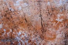 Текстура предпосылки Grunge абстрактной покрашенная ржавчиной Стоковые Фотографии RF