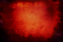 Текстура предпосылки Grunge красная Стоковая Фотография RF