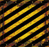 Текстура предосторежения знака классн классного ржавая Стоковое Фото