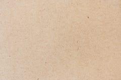 текстура предпосылки естественной рециркулированная бумагой Стоковые Изображения RF